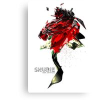 The Shubie Rose Canvas Print