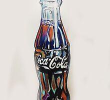 cola bottle by artgalaxy