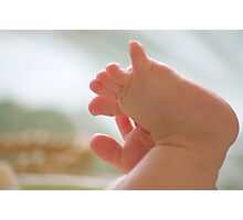 little toes Photographic Print