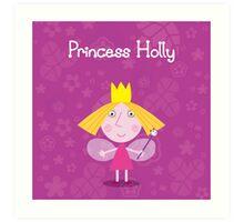 Princess Holly Art Print