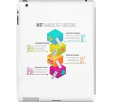 INTP Sarcastic Functions iPad Case/Skin