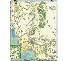 Hand painted custom Middle Earth design iPad Case/Skin