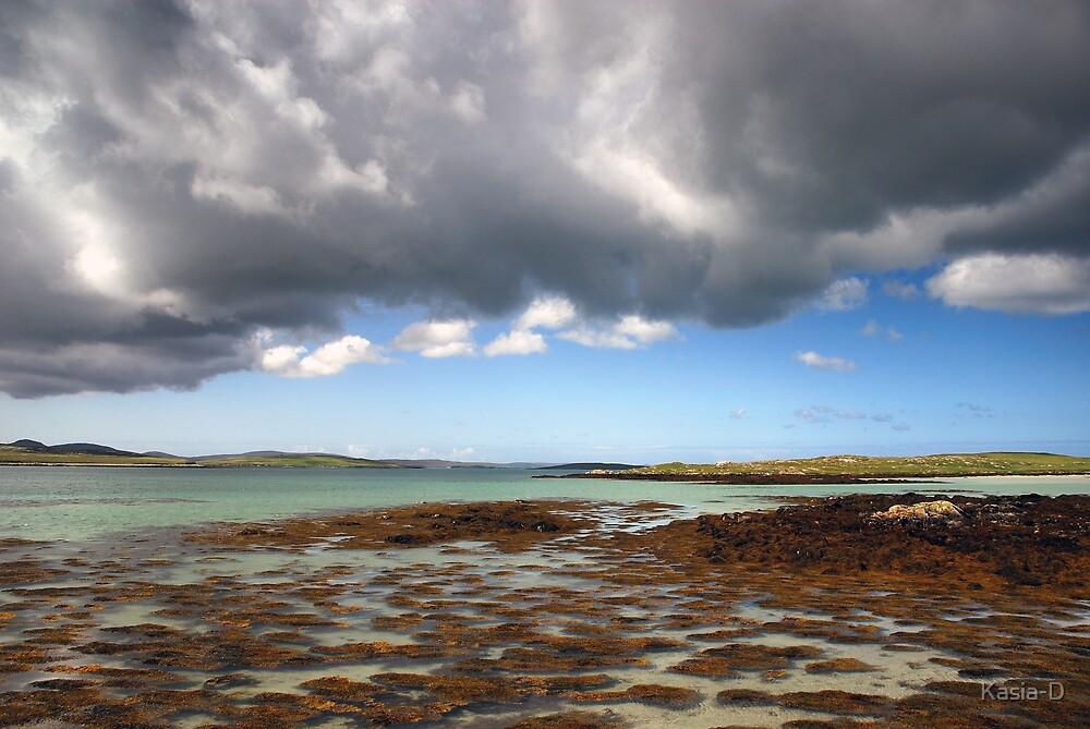 Berneray: Reflective Clouds by Kasia-D