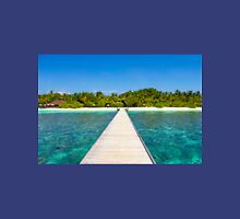 Postcard from the Maldives - Velidhu Atoll in the Indian Ocean T-Shirt