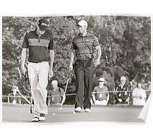 Tiger at the PGA Poster