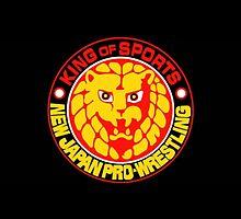 New Japan Pro Wrestling Logo by RealRocknRolla