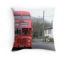 Birmingham Bus (From the Good Old Days) Throw Pillow