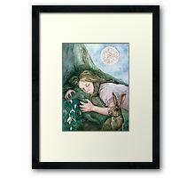 March Moon Framed Print