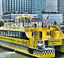 New York City Water Taxi by joan warburton