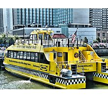New York City Water Taxi Photographic Print