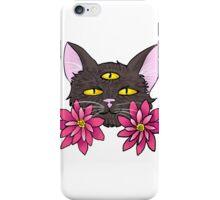 Three-Eyed Cat iPhone Case/Skin