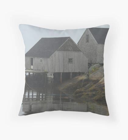 More Peggy's Cove, Nova Scotia. Throw Pillow