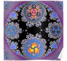 Bubble Mandala Poster