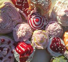 Cupcakes by Aubrey DeVoursney