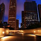 Twilight on BP Bridge by Adam Bykowski