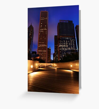 Twilight on BP Bridge Greeting Card