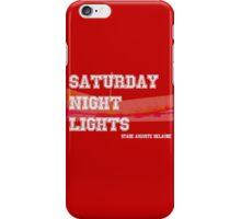 Saturday Night Lights iPhone Case/Skin
