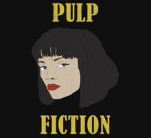 Mia Wallace - Pulp Fiction (Distressed Effect) by levinia94