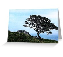 Boughing To Nature Greeting Card