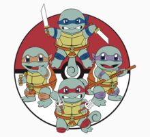 Ninja Squirtle Kids Clothes