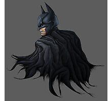 Angry Batman Photographic Print