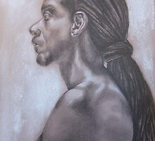 Jamaican man by Colombe  Cambourne
