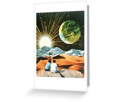 Another Earth Greeting Card