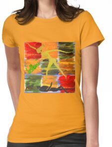 The 3 Forms Of Energy and The Danavi Womens Fitted T-Shirt