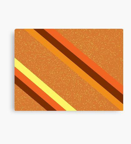 Amber Sparkle Canvas Print