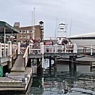 """Bannister's Wharf"" - Newport Harbor Series - © 2009 by Jack McCabe"