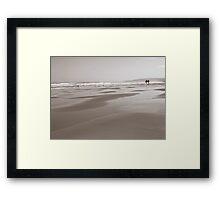 Surf... Framed Print