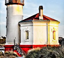 lighthouse hdr by Jeannie Peters
