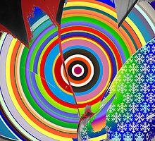 Rainbow Target by PhreeSpirit