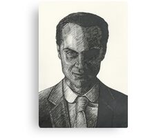 Moriarty Evil Super Villian Canvas Print