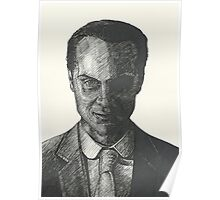 Moriarty Evil Super Villian Poster