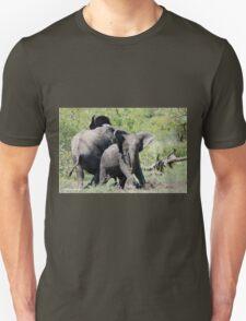 O NO, THIS IS MY SPACE! THE AFRICAN ELEPHANT – Loxodonta Africana - AFRIKA OLIFANT Unisex T-Shirt