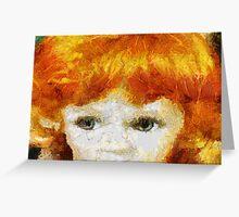 Dolls eyes Greeting Card