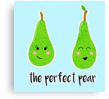 The Perfect Pear.. Canvas Print