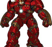 avengers 2 hulkbuster by Erik shirts