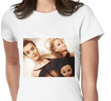 Discarded Womens Fitted T-Shirt