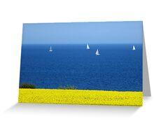 Spring at the Baltic Sea Greeting Card