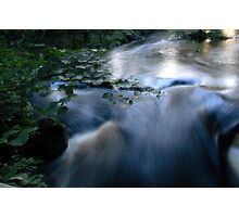 Running Water... Photographic Print