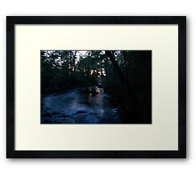 On the Brink of Night... Framed Print