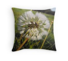 Frosty Tips Throw Pillow