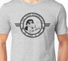A pig that doesn't fly... Unisex T-Shirt