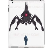 Something Ere The End (With Text) iPad Case/Skin