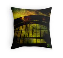 Industrial Disease Throw Pillow