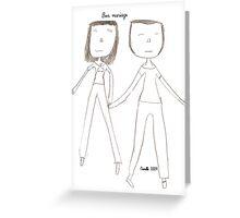 Bon mariage Greeting Card