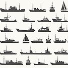 Ships set by Alexzel