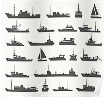 Ships set Poster
